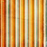 De oranje gestreepte achtergrond van Grunge Stock Foto
