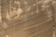 De oranje oude geborstelde textuur van de cementvloer - fantastische abstracte fotoachtergrond royalty-vrije stock afbeelding