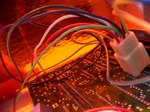 De oranje Partij van de Technologie van de Draad #2 Stock Afbeeldingen