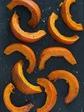 De oranje Pompoen van Hokkaido royalty-vrije stock foto's