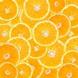 De oranje Samenvatting van de Plak Stock Fotografie