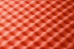 De oranje Textuur van het Schuim Royalty-vrije Stock Foto