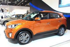 De oranje uitgave van Peking Hyundai ix25 Royalty-vrije Stock Foto