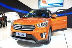 De oranje uitgave van Peking Hyundai ix25 Royalty-vrije Stock Foto's