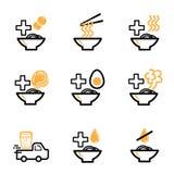 De orde ramen pictogram voor restaurant Royalty-vrije Illustratie