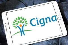 De organisatieembleem van de Cignagezondheid Royalty-vrije Stock Foto