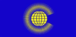 De organisatieteken van de Commonwealth Stock Afbeelding