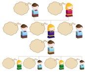De Organisatorische Grafiek van de diversiteit Stock Afbeelding
