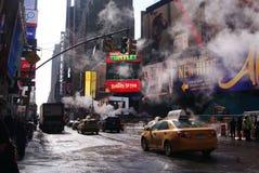 De organiserade madnesna i NYC Royaltyfria Foton