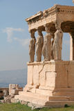 De Oriëntatiepunten van Athene Stock Foto