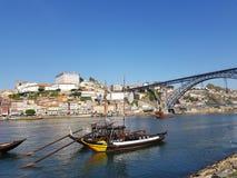 De oriëntatiepunten van Evropeportugal porto stock afbeelding