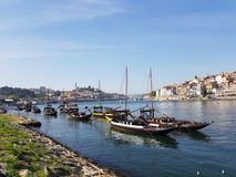De oriëntatiepunten van Evropeportugal porto royalty-vrije stock afbeelding