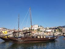 De oriëntatiepunten van Evropeportugal porto royalty-vrije stock foto's