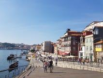 De oriëntatiepunten van Evropeportugal porto royalty-vrije stock afbeeldingen