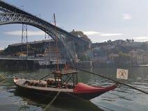 De oriëntatiepunten van Evropeportugal porto stock foto