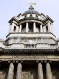 De oriëntatiepunten van Londen: Het oude misdadige hof van Vestingmuur Stock Fotografie
