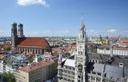 De Oriëntatiepunten van München Stock Foto's