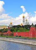 De oriëntatiepunten van Moskou Stock Foto's