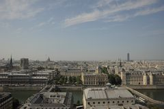 De Oriëntatiepunten van Parijs Stock Foto