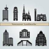 De Oriëntatiepunten van Vancouver V2 royalty-vrije illustratie