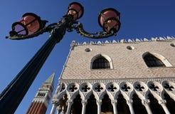De oriëntatiepunten van Venetië Royalty-vrije Stock Fotografie