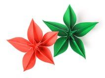 De origami van de bloem Royalty-vrije Stock Foto's