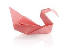 De origami zwom Stock Foto
