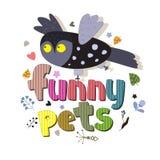 De originele spelling van de huisdieren van uitdrukkingsfanny Royalty-vrije Stock Afbeeldingen