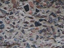 De originele textuur van cement en kiezelstenen royalty-vrije stock foto's