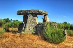 De Orka em Gouveia van dolmenpedra DA stock afbeelding