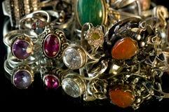 De ornamenten van de juwelier stock afbeelding