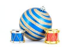 De ornamenten van de kerstboom Royalty-vrije Stock Afbeeldingen