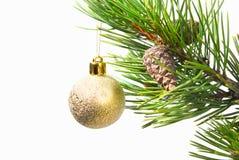 De ornamenten van de kerstboom. royalty-vrije stock fotografie