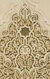 De ornamenten van de muur stock fotografie