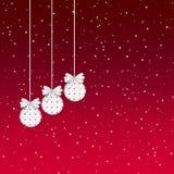De Ornamenten van de sneeuwvlok royalty-vrije illustratie