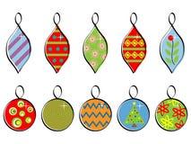 De Ornamenten van de vakantie Stock Foto's