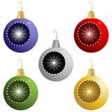De Ornamenten van de vakantie Royalty-vrije Stock Fotografie