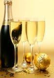 De ornamenten van het nieuwjaar Stock Afbeelding