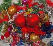 De ornamenten van Holideys Stock Afbeeldingen