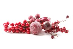 De Ornamenten van Kerstmis Royalty-vrije Stock Afbeeldingen