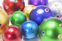 De Ornamenten van Kerstmis Stock Afbeelding