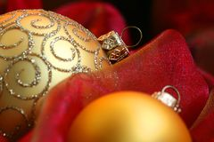De Ornamenten van Kerstmis Stock Foto's
