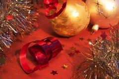 De ornamenten van Kerstmis Royalty-vrije Stock Fotografie