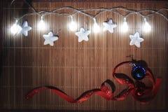 De ornamenten van Kerstmis Stock Foto
