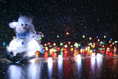 De ornamenten van Kerstmis Royalty-vrije Stock Foto's