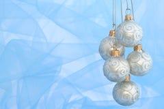 De Ornamenten van Kerstmis/Bal royalty-vrije stock afbeeldingen