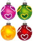 De ornamenten vol.8 van Kerstmis royalty-vrije illustratie