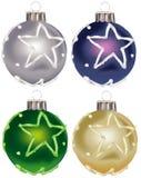 De ornamenten vol.9 van Kerstmis stock illustratie