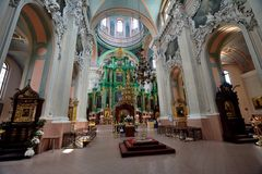 De Orthodoxe drie martelaren van Litouwen stock afbeelding