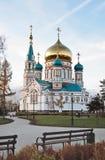 De orthodoxe kathedraal Stock Foto